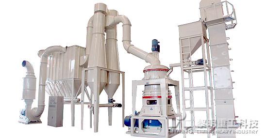 电厂脱硫所用到的石灰石粉可以用磨粉设备有哪些